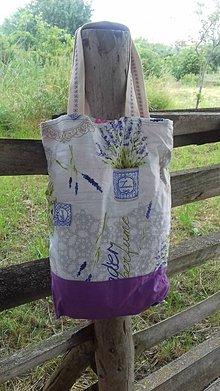 Nákupné tašky - Lavender nákupná taška - 9587223_