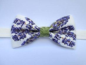 Doplnky - levanduľový pánsky motýlik - 9585981_