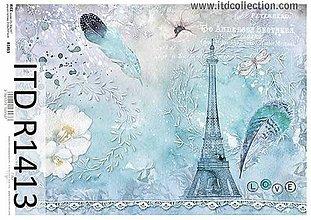 Papier - ryžový papier ITD 1413 - 9586181_