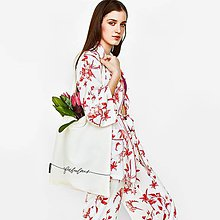 Nákupné tašky - Shopper s nápisom Fabulous - 9584868_