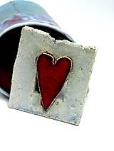 Obrázky - obrázok srdce červené - pre zamilovaných - 9586033_