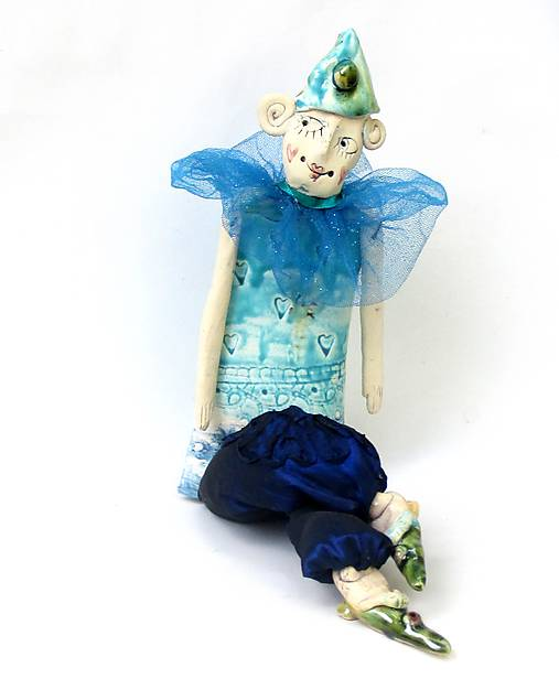 klaun socha figúrka