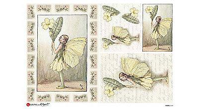 Papier - Ryžový papier - víly II, 45x32cm, ihneď - 9586696_