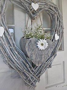 Dekorácie - závesná aj svadobná dekorácia s konvalinkami - 9590038_