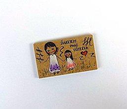 Magnetky - Darček pre učiteľku I - 9588740_