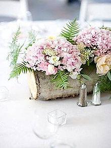 Darčeky pre svadobčanov - Brezový pník na Váš svadobný stôl:-) - 9588395_
