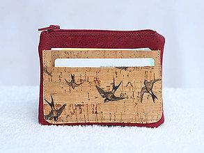 Peňaženky - Korková peňaženka - 9588299_