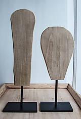 Socha - set, sošky na kovovom podstavci - 9588545_