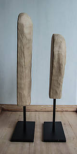 Socha - set, sošky na kovovom podstavci - 9588546_
