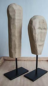 Socha - set, sošky na kovovom podstavci - 9588547_