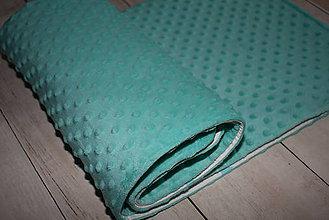 Textil - Minky deka *hviezdičky* - 9589046_
