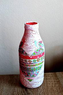 Dekorácie - Váza so srdiečkom - 9588886_