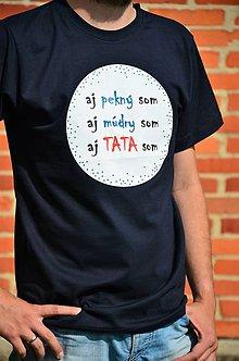 Tričká - Pekný múdry Tata - 9589263_