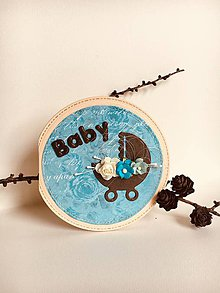 Papiernictvo - Pohľadnica k narodeniu bábätka - 9589697_