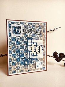 Papiernictvo - Pohľadnica k narodeninám pre muža, 40tka - 9590389_