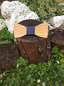 Doplnky - Pánsky drevený motýlik - 9589072_