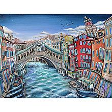 Obrazy - Ponte di Rialto / Venezia - 9589268_