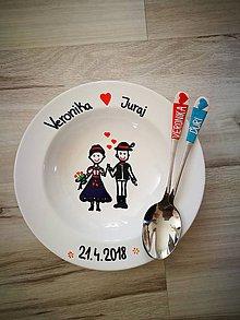 Darčeky pre svadobčanov - Svadobný set pre mladomanželov - 9587916_