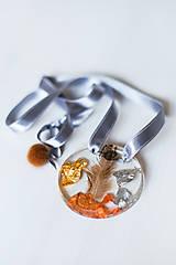 Náhrdelníky - 25% ZĽAVA- MEDAILÓN náhrdelník