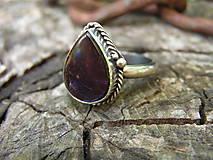 Prstene - Strieborny prsteň Ag925 Ammolit - 9589874_