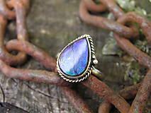 Prstene - Strieborny prsteň Ag925 Ammolit - 9589877_
