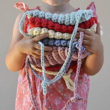 Detské tašky - Kabelôčka...vanilková - 9590661_