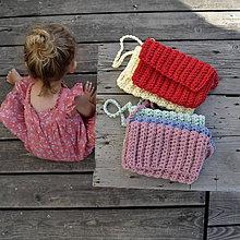 Detské tašky - Kabelôčka...červená - 9590712_