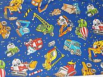 """Detské tašky - Detská taštička """"stavebné stroje"""" - 9588078_"""