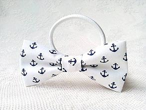 Ozdoby do vlasov - Sailor hair bow - 9592022_
