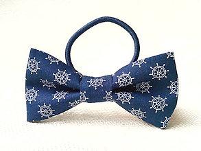 Ozdoby do vlasov - Sailor hair bow - 9592168_