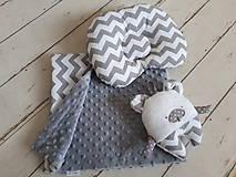 Textil - Mäkučká  deka 70x90 : minky/bavlna - 9592372_