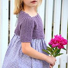 Detské oblečenie - šaty MY LADY violet - 9593322_