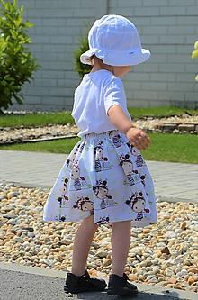 Detské oblečenie - Celesta sukňa girl - 9591625_