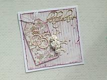 Papiernictvo - Svadobná pohľadnica - 9592151_