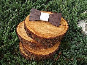 Doplnky - Pánsky drevený motýlik - 9593498_