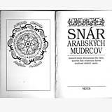Knihy - SNÁR ARABSKÝCH MUDRCOV I. zv - 9594487_