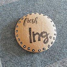 Odznaky/Brošne - Odznak k promóciám . Fresh Ing. Mgr. Bc. - 9593847_