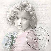 Papier - Sagen kolekcia dievča - 9591990_