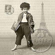 Papier - Sagen kolekcia parížan - 9592029_
