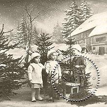 Papier - Sagen kolekcia deti a Zima - 9592057_