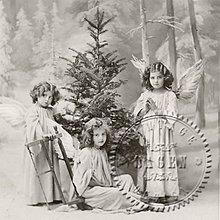 Papier - Sagen kolekcia deti a stromček - 9592999_