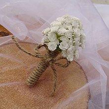 Pierka - Korsáž pro ženicha Lola - 9591868_