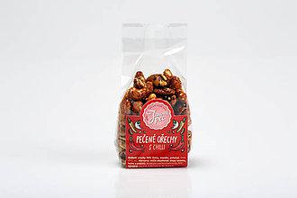Potraviny - Pečené orechy s medom a chilli - 9592691_