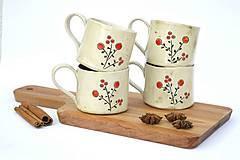 Nádoby - Keramická espresso šálka Maľovaná - 9593639_