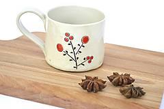 Nádoby - Keramická espresso šálka Maľovaná - 9593641_