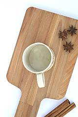 Nádoby - Keramická espresso šálka Maľovaná - 9593643_