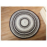 Úžitkový textil - Ručne šitý okrúhly koberec _02 - 9592620_