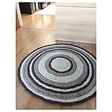 Úžitkový textil - Ručne šitý okrúhly koberec _02 - 9592630_