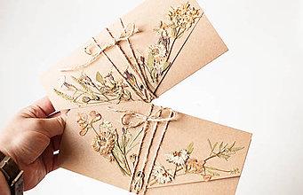 Papiernictvo - Set obálok na peniaze