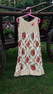 Detské oblečenie - romantické šatičky - 9596020_